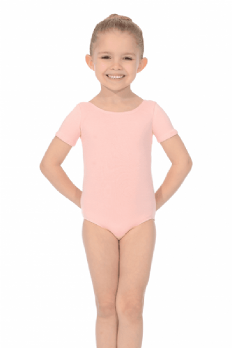 Roch Valley Dance Leotard Pre-Primary Pink Cotton/Lycra Regulation RAD Ballet